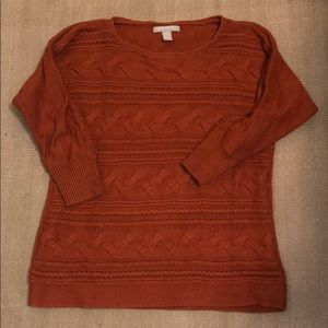 Orange Banana Republic Sweater